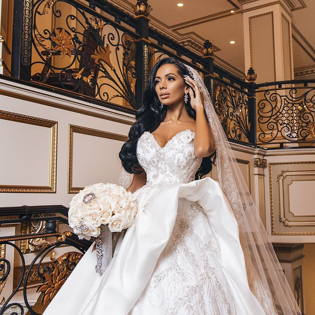 Erica Mena Has Fans Crying With This Gorgeous Video From Her And Safaree's Wedding - Her Son Is Featured In The Clip As Well!