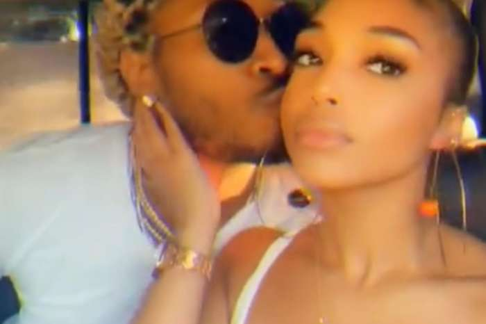 Future Kisses Lori Harvey In A Lovey-Dovey Video -- Model Flaunts Her Curves In A Tiny Bathing Suit While On Vacation