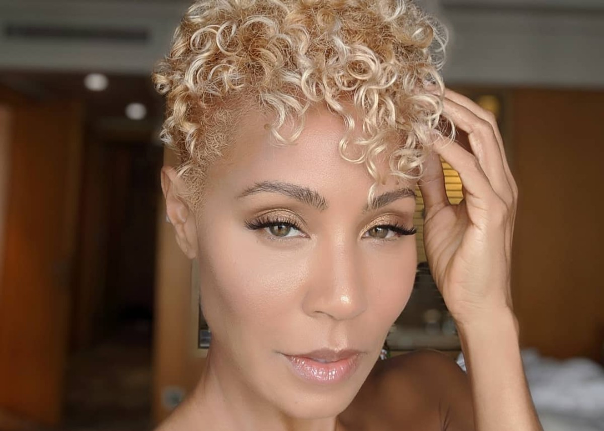 Jada Pinkett Smith Debuts Platinum Blonde Pixie Cut Check Out The Video Celebrity Insider
