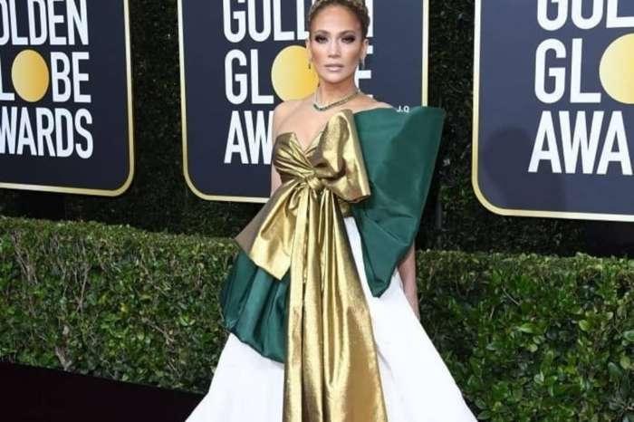 Jennifer Lopez Wore Valentino To 77th Golden Globes