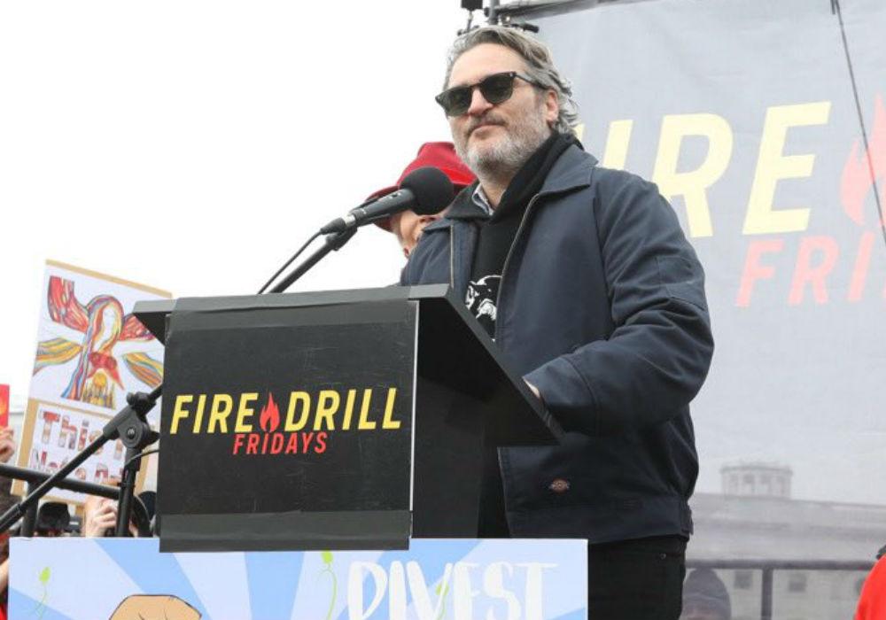 Joaquin Phoenix Arrested In Washington DC At Jane Fonda's Climate Change Protest