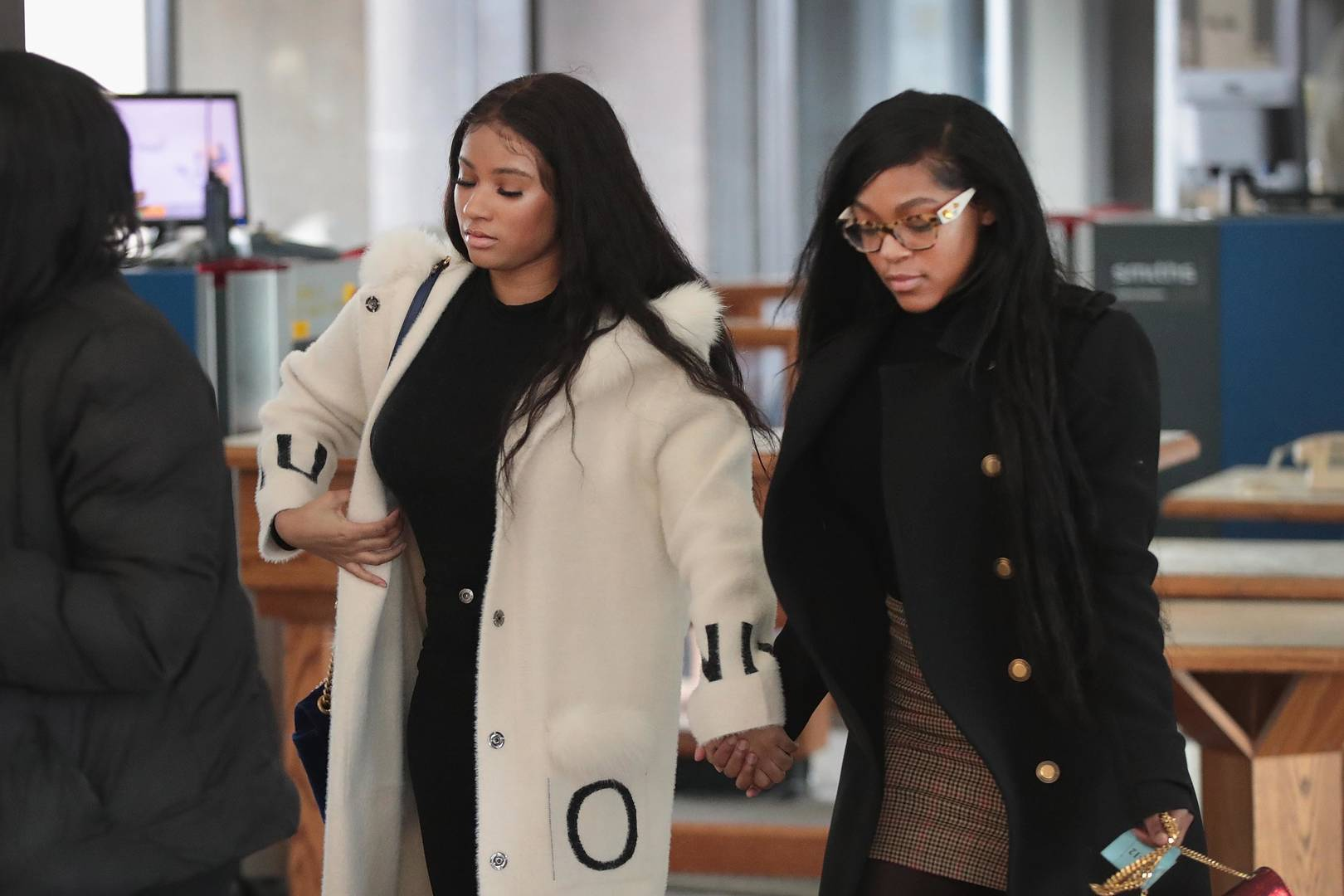 R Kelly's ex-girlfriends in a fight shared on Instagram