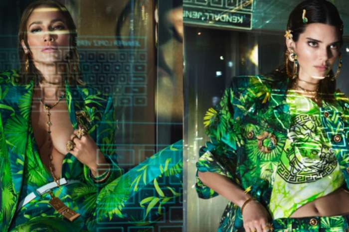 Kendall Jenner And Jennifer Lopez Team Up For New Versace Campaign — Kendall Bares All