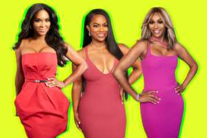 Cynthia Bailey And Kandi Burruss Celebrate Kenya Moore's Birthday After Nene Leakes Accuses Them Of Being In An Alliance!