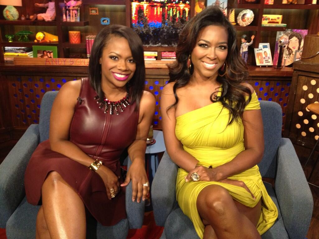 Kandi Burruss Sat Down With Kenya Moore To Discuss All Things RHOA