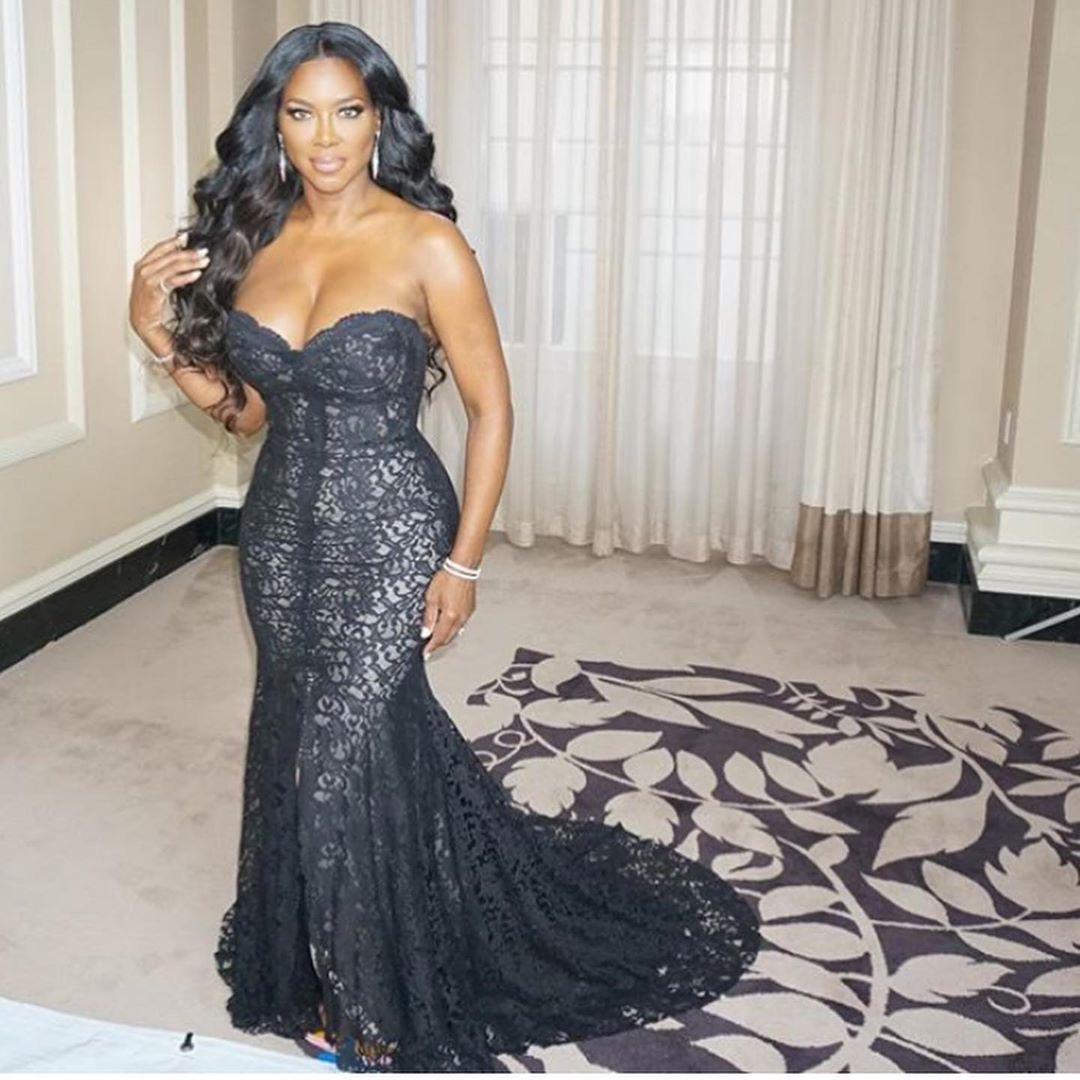 Kenya Moore Shares Her Top 3 Favorite Looks From RHOA Season 12