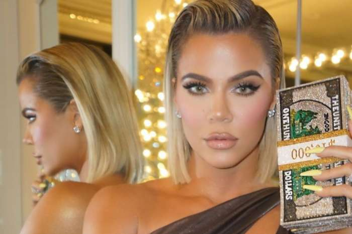 Khloe Kardashian Brings Out Her Inner Goddess In Metallic Hera Dress From Abyss By Abby