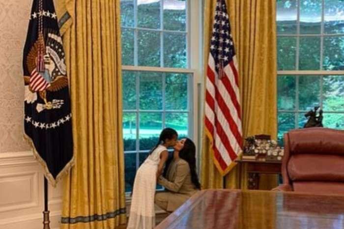 Kim Kardashian Brought North West To The White House