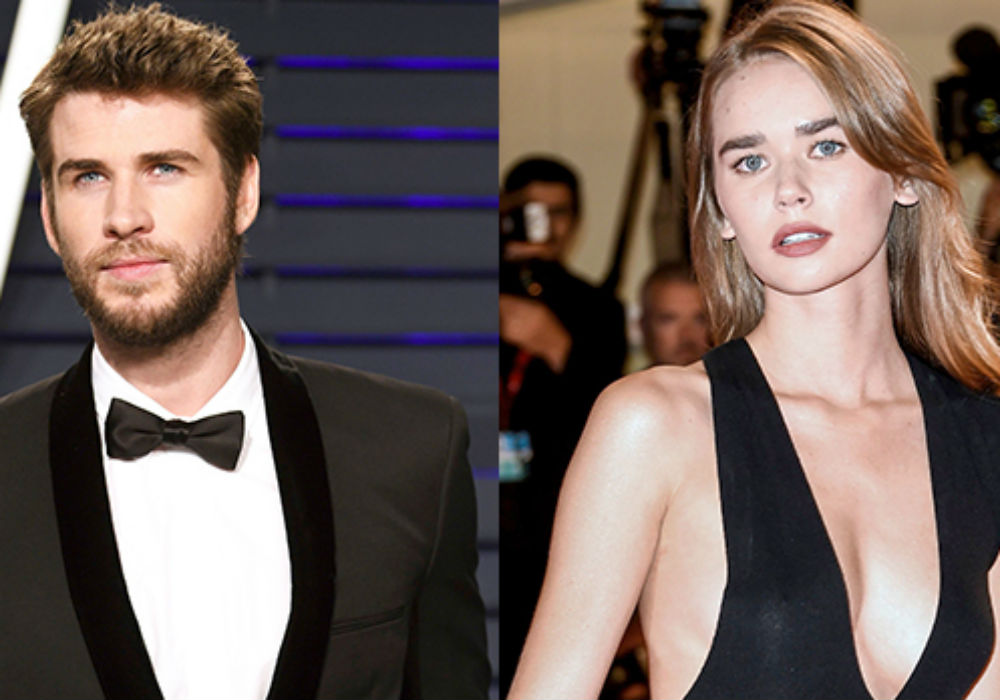 Liam Hemsworth & Gabriella Brooks Confirm Romance With Some PDA On The Beach