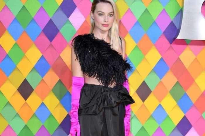Margot Robbie Wears Dries Van Noten Plumage Dress To The Birds Of Prey Premiere And Gets Mixed Reactions
