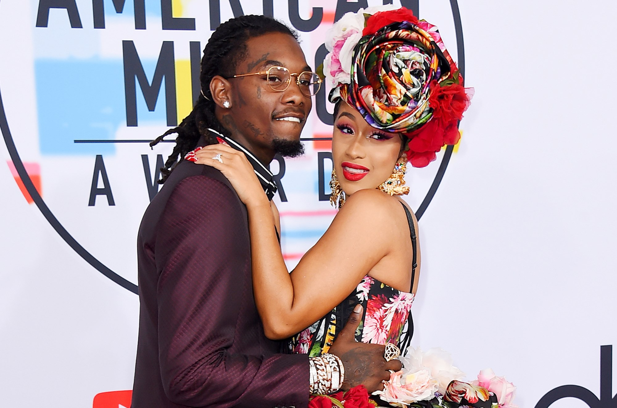 """""""cardi-b-shuts-down-the-grammy-awards-in-sheer-dreamy-gown-where-her-massive-tattoo-is-visible-photos-have-fans-saying-all-her-sins-are-forgiven-in-the-angelic-look"""""""