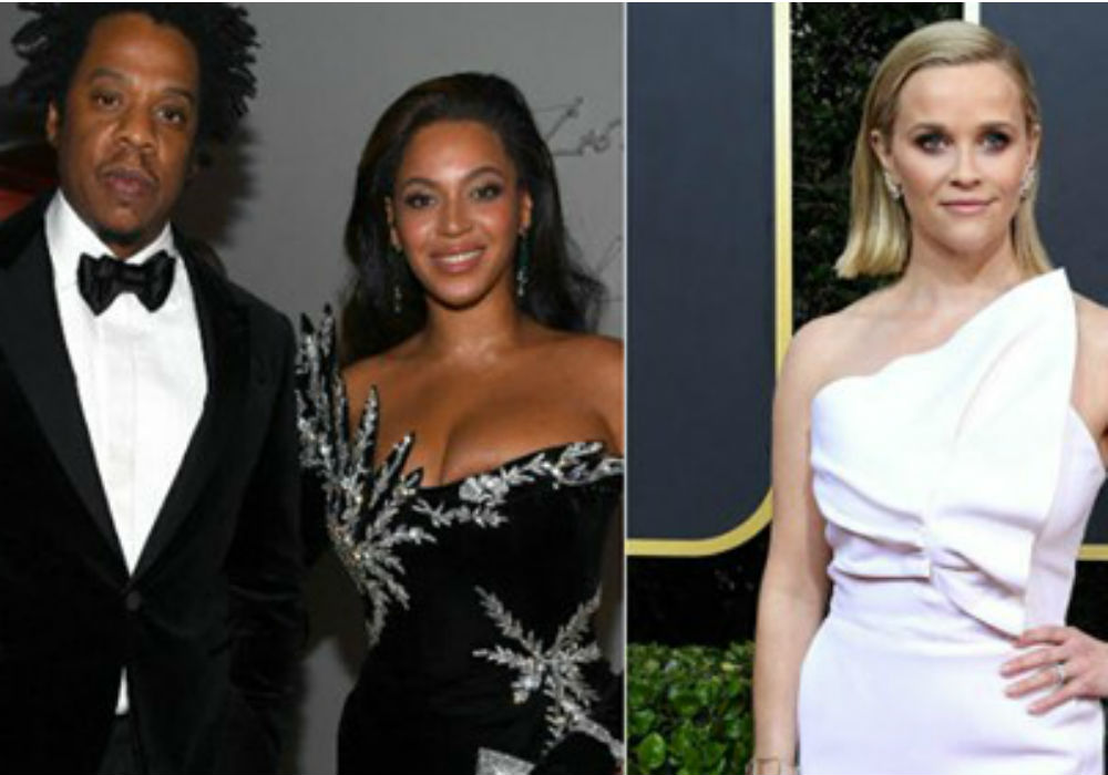 Reese Witherspoon Returns Home To Find A Big Surprise From Beyonce & Jay-Z After Golden Globes