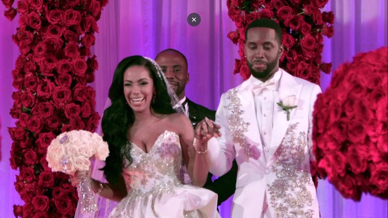 Erica Mena Cried Hard When She Saw Her Wedding Dress- Here's Why