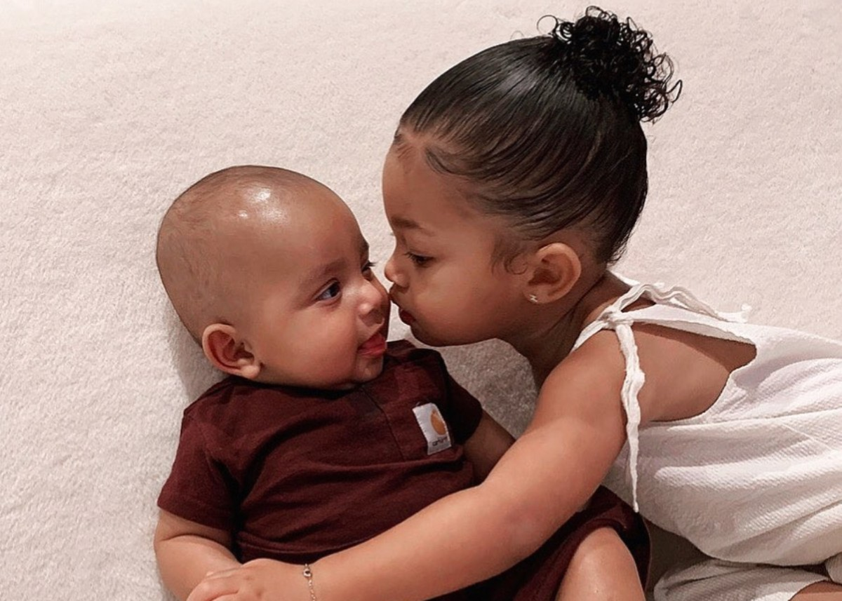 """kim-kardashian-shares-adorable-photos-of-saint-and-psalm-west-and-niece-stormi-webster"""