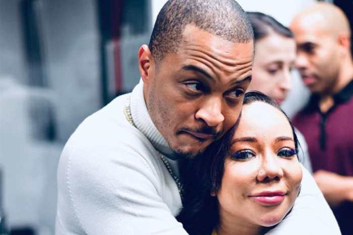 T.I. And Tiny Harris's Fans Are Confused After Another Rapper Posted This Photo With A Stunning Model
