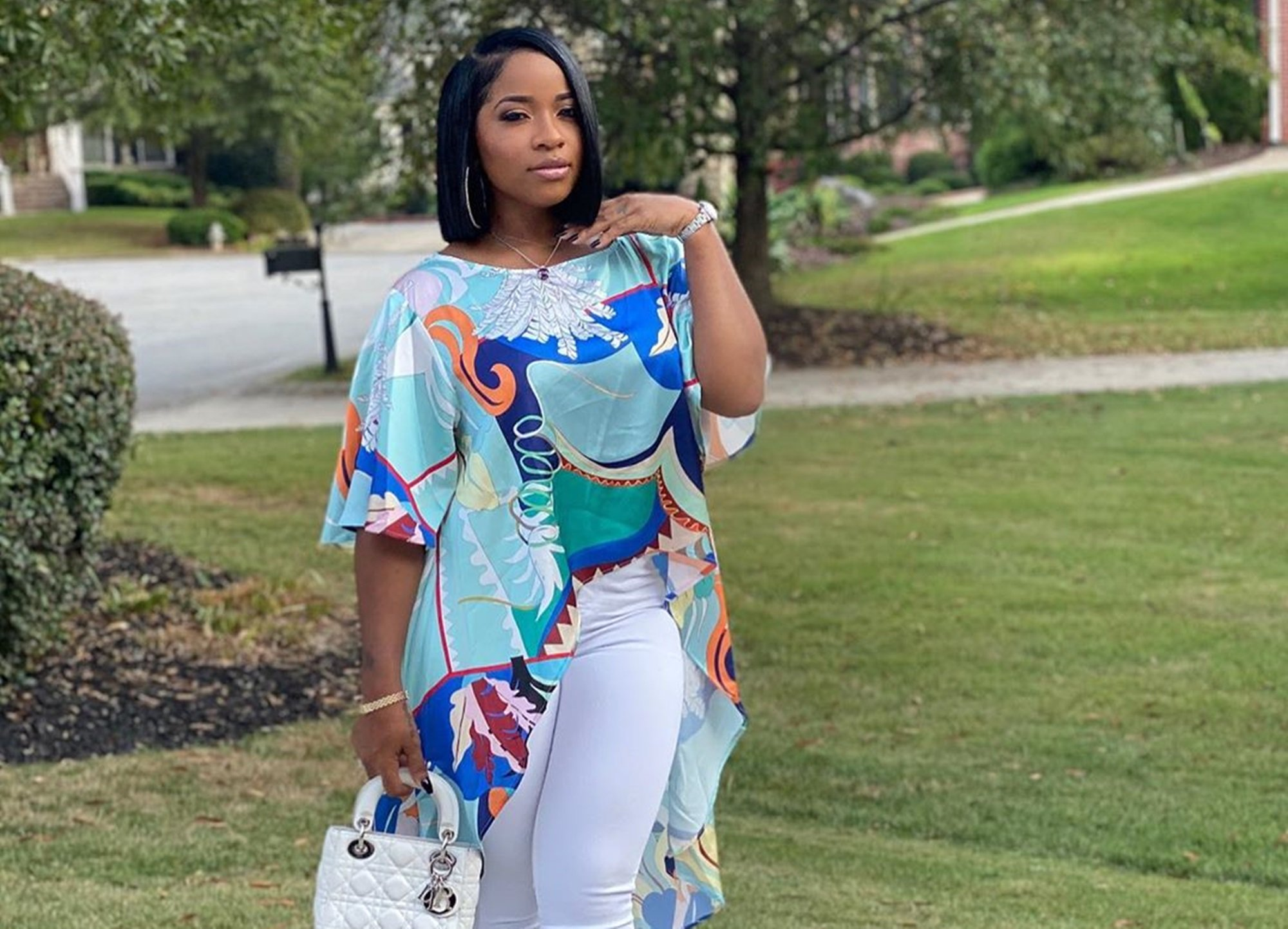 Toya Johnson Is Proud Of Her Little Workout Buddy - Can You Guess Who It Is? See The Video!