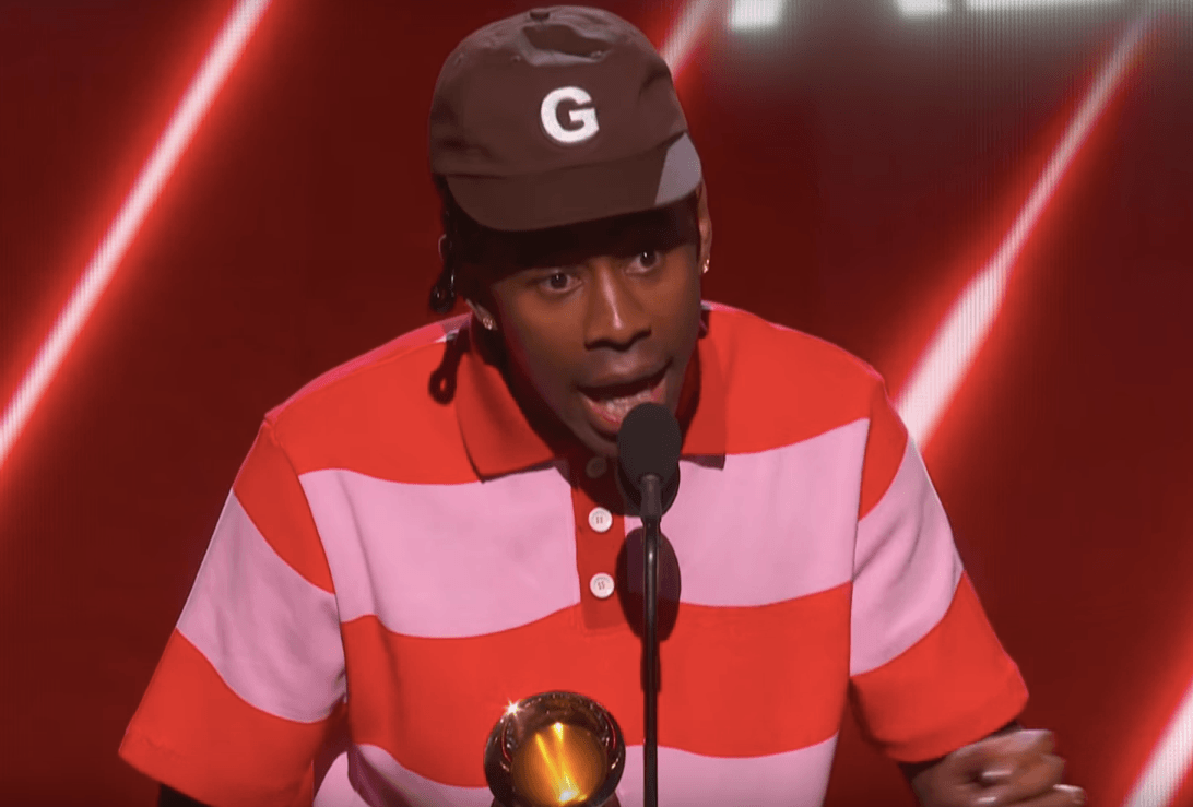 Tyler The Creator Takes Home A Grammy, But Also Has A Few Things He Wants To Set Straight During His Acceptance Speech - See The Video