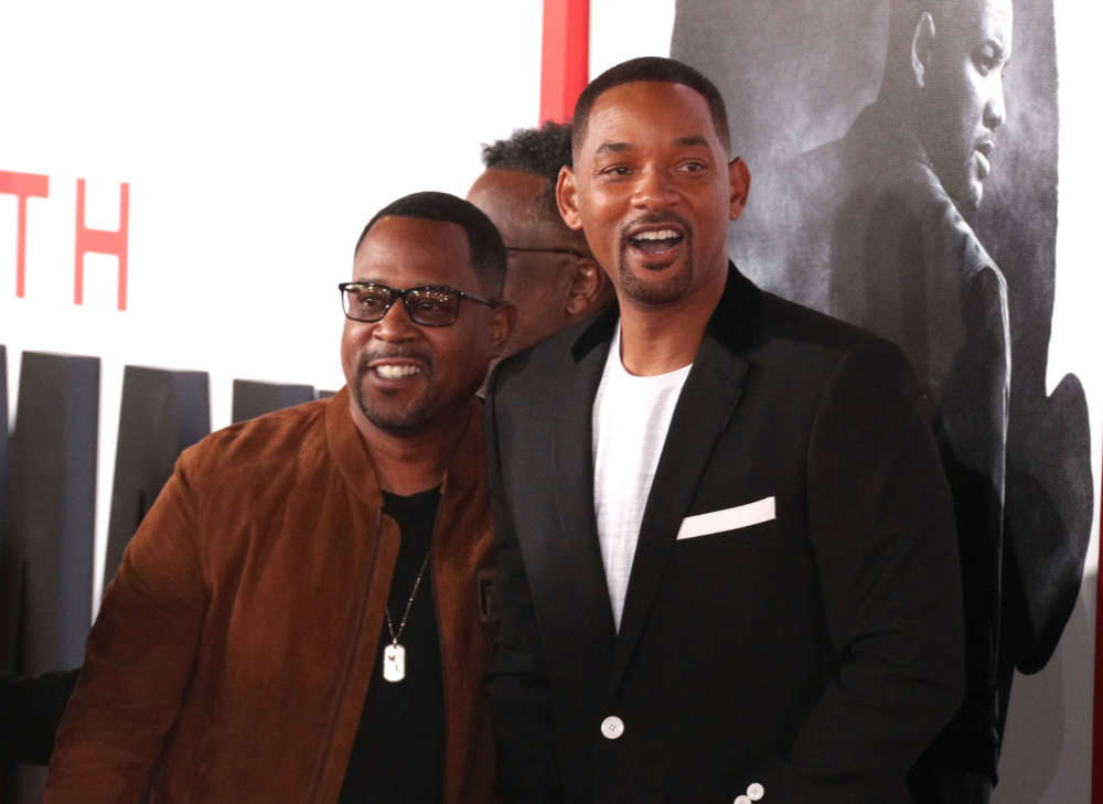 Will Smith and Martin