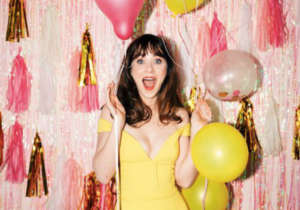 Zooey Deschanel Turns 40 At 1980s-Themed Birthday Party With Boyfriend Jonathan Scott