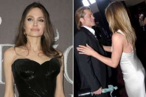 Angelina Jolie - Here's How She Reportedly Feels About Brad Pitt And Jennifer Aniston's Sweet Reunion!