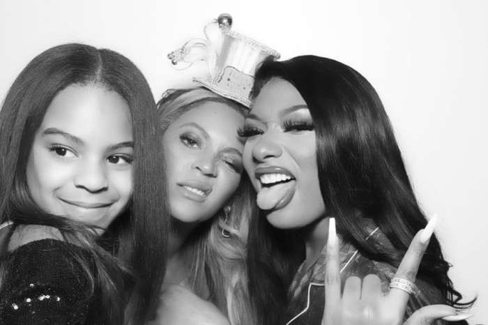 Blue Ivy Looks All Grown Up In Pic With Her Mom Beyonce And Megan Thee Stallion!