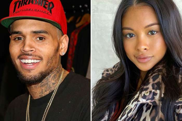 Ammika Harris Claps Back At Hater Saying Chris Brown Doesn't Love Her!