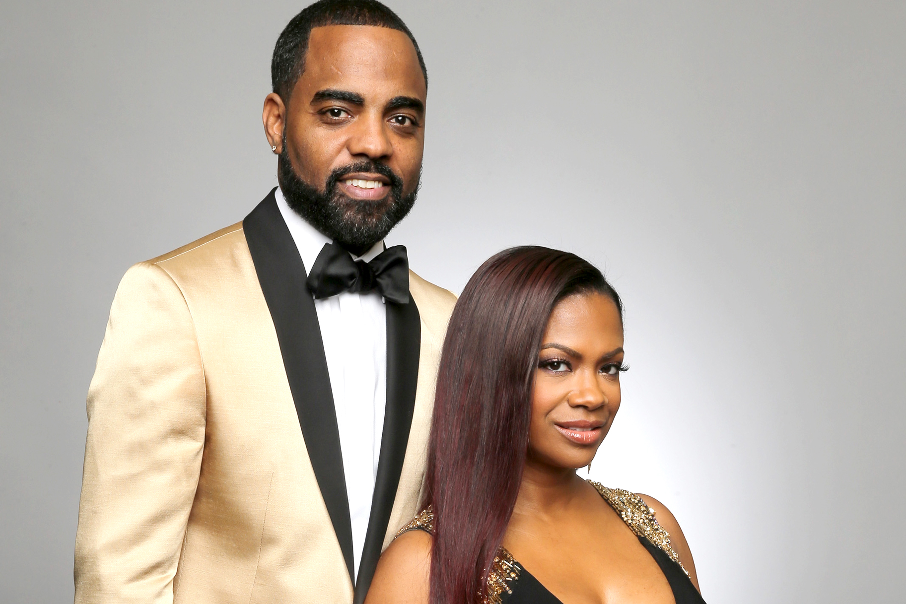 Kandi Burruss And Todd Tucker Attended The Clive Davis Party And Looked Gorgeous