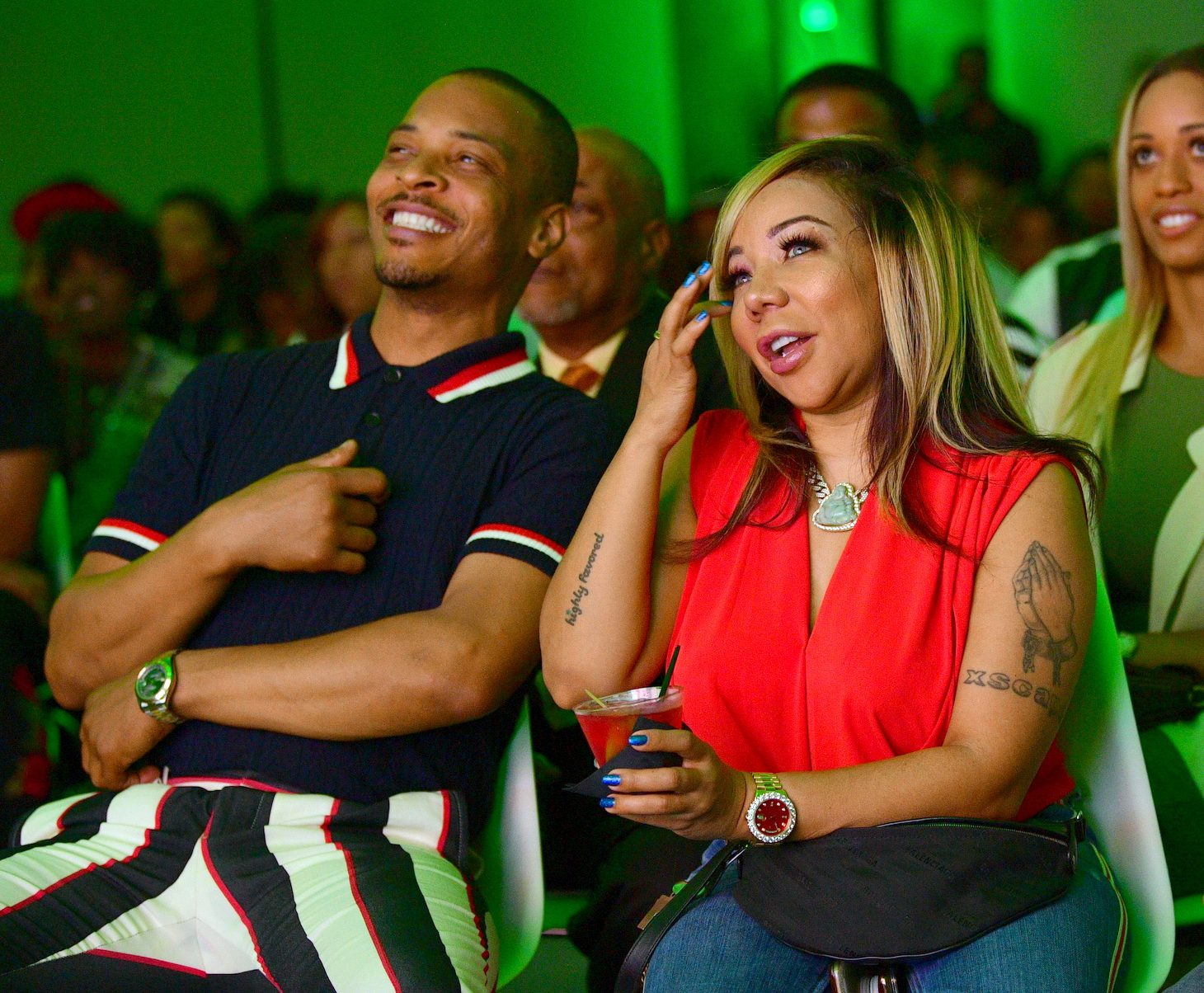 Tiny Harris And T.I.'s Fans Call The Stars 'Best Dressed Couple'