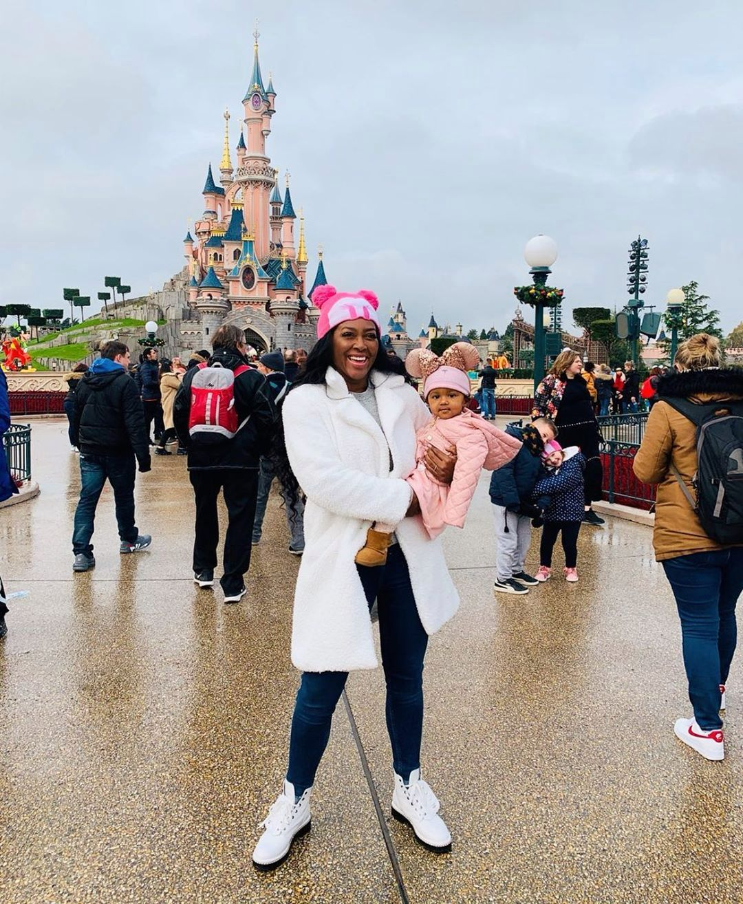 Kenya Moore Shares A Video With Baby Brooklyn Daly Walking And Dancing And Makes fans Day