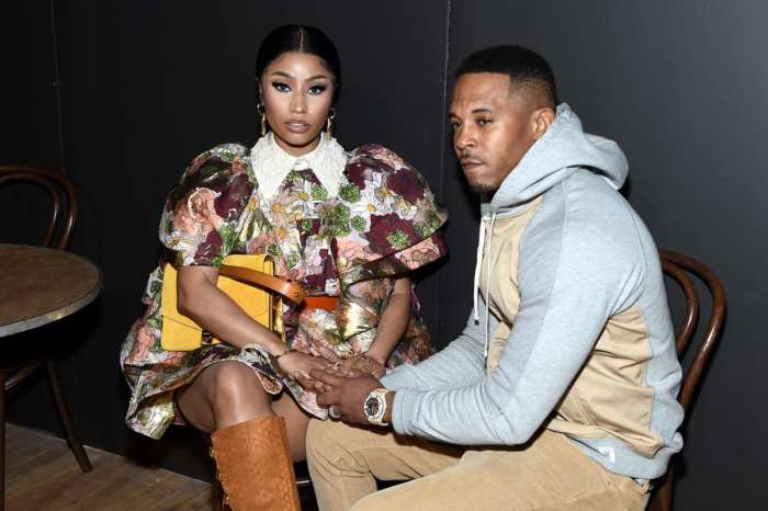 Nicki Minaj Is Showing Off Her Curves In A Carnival Costume With Her Husband, Kenneth Petty By Her Side