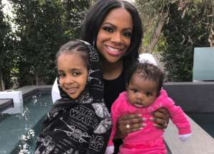 Kandi Burruss Is Glowing In New Family Portrait With Ace And Baby Blaze -- Todd Tucker's Little Clan Is Shining