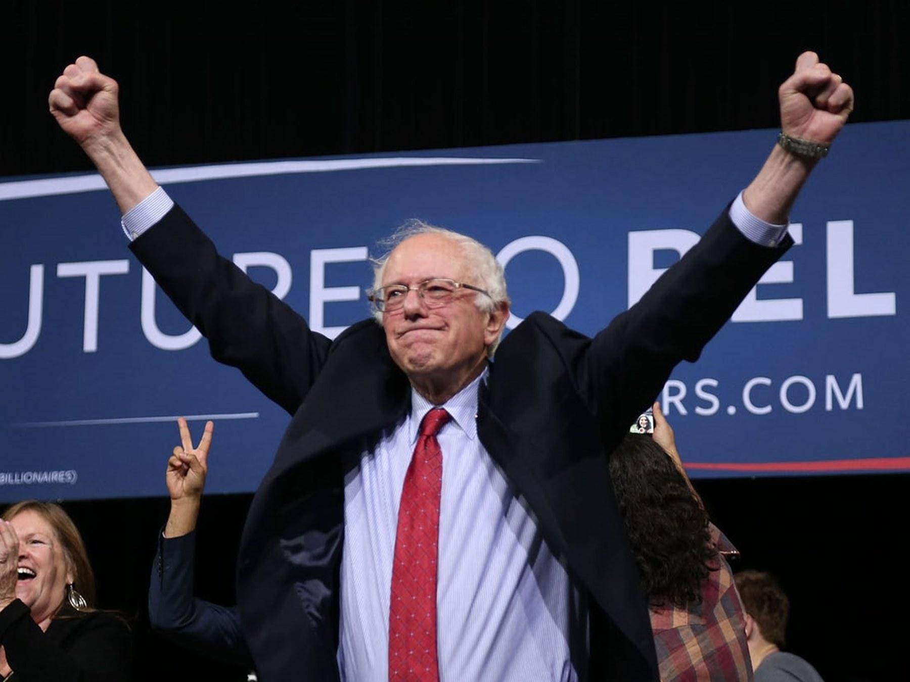 Bernie Sanders Chris Matthews Nevada