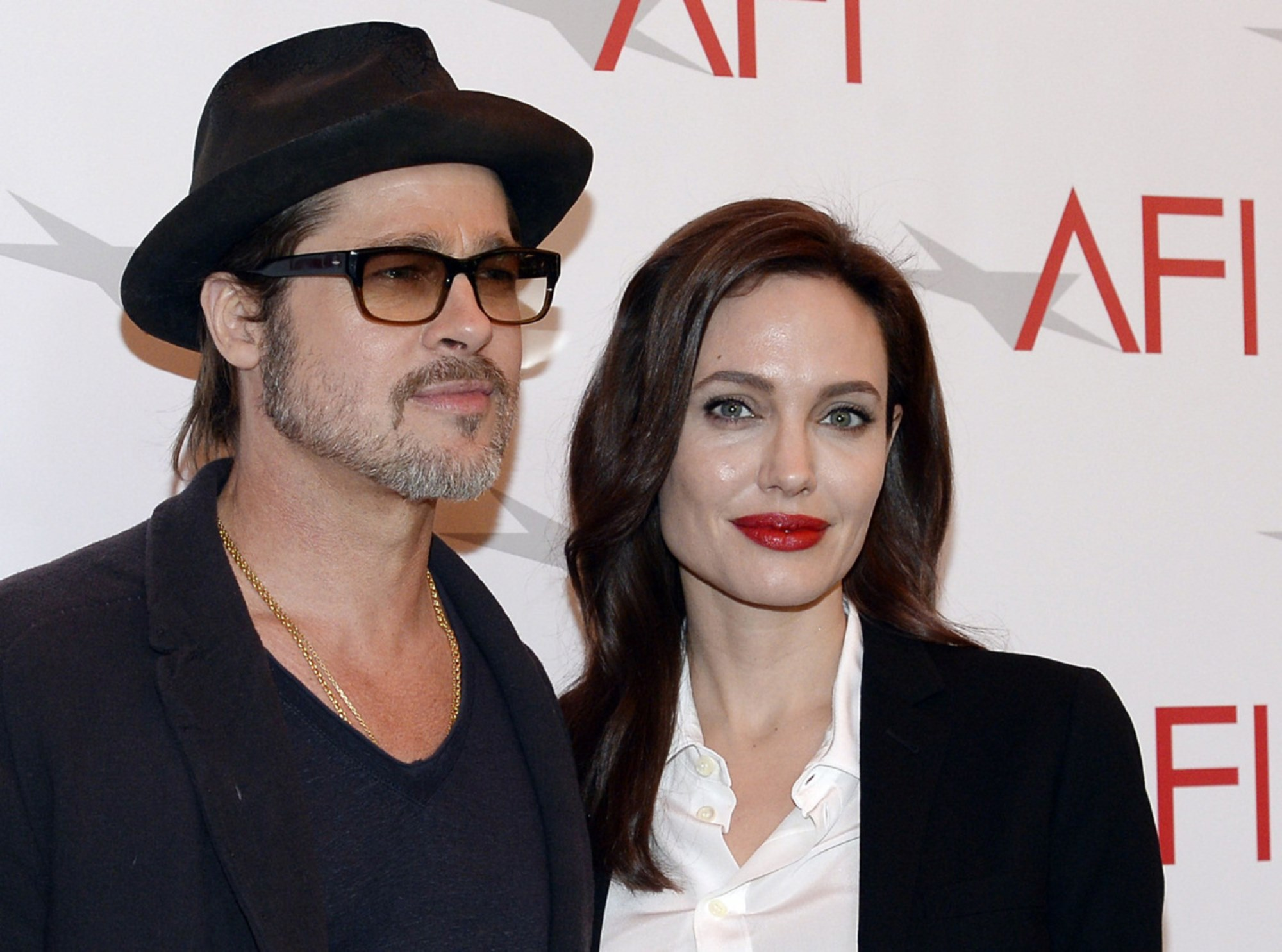 Brad Pitt Angelina Jolie Maddox Meeting After Divorce