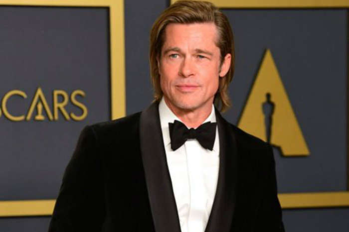 Brad Pitt Insists He Wrote His Own Acceptance Speeches During Awards Season With A Little Help From Some 'Very Funny Friends'
