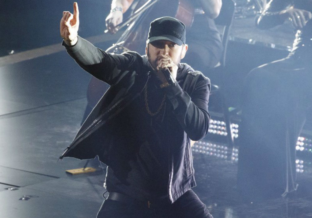 Eminem Explains His Surprise Oscar Performance & Reveals What He Was Doing The Night He Won Best Original Song In 2003