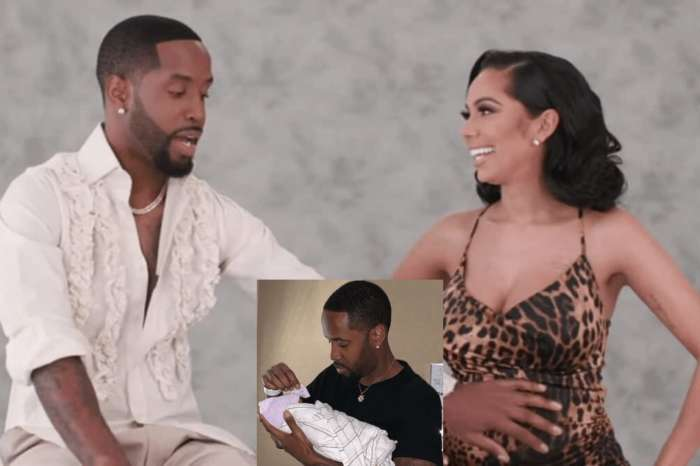 Safaree Is The Proudest Dad - Check Out How He Makes His Baby Girl Stop Crying