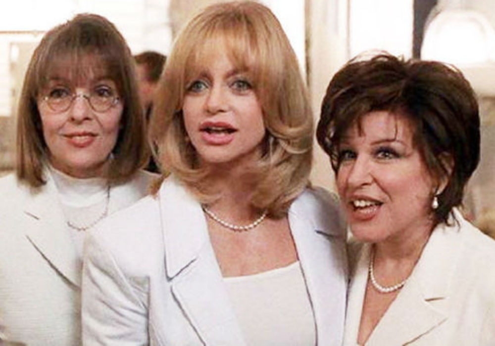 Goldie Hawn, Diane Keaton, & Bette Midler Set To Reunite In New Film Nearly 25 Years After First Wives Club