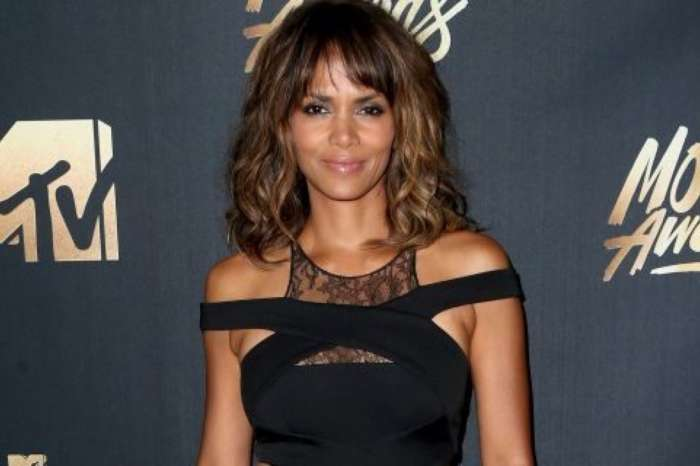 Halle Berry, 53, Is A Whole Mood In Flawless And Ageless White Bathing Suit Photo Where She Is Lounging Poolside