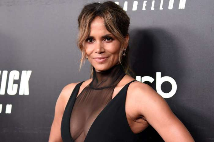 Halle Berry Oozes Grace And Elegance In New Photo And Reveals Who She Spent Valentine's Day With