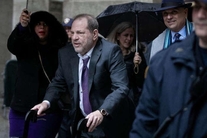 Prosecutor Refers To Harvey Weinstein's Walker As A 'Prop'