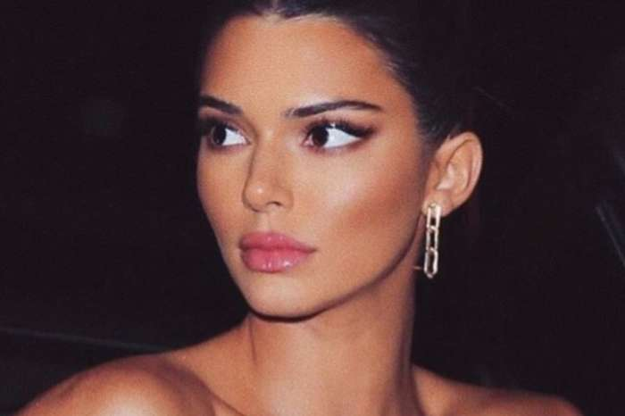 Kendall Jenner Spotted Wearing Hot Pink I Am Gia Outfit At New York Restaurant
