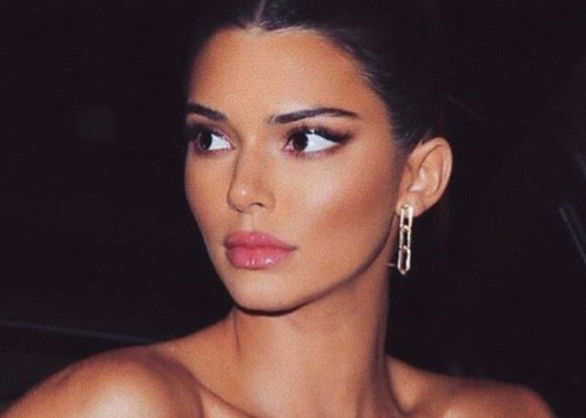 """""""kendall-jenner-spotted-wearing-hot-pink-i-am-gia-outfit-at-new-york-restaurant"""""""