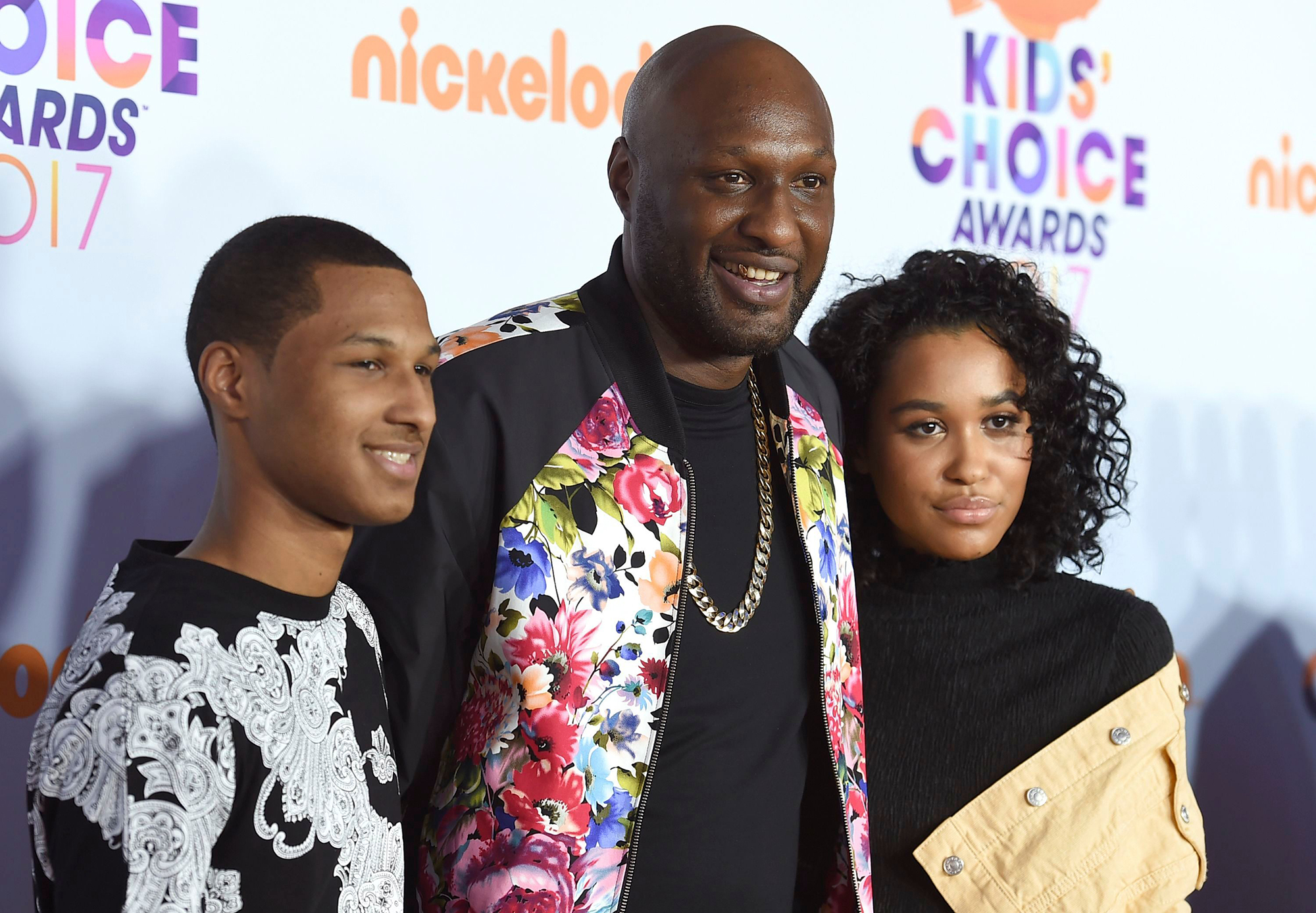 Lamar Odom and Kids