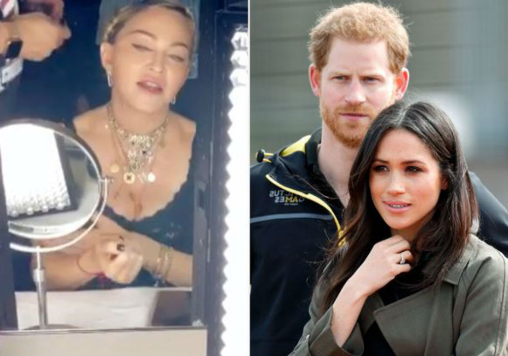 Madonna Offers To Sublet Her NYC Apartment To Prince Harry & Meghan Markle In Bizarre Instagram Video