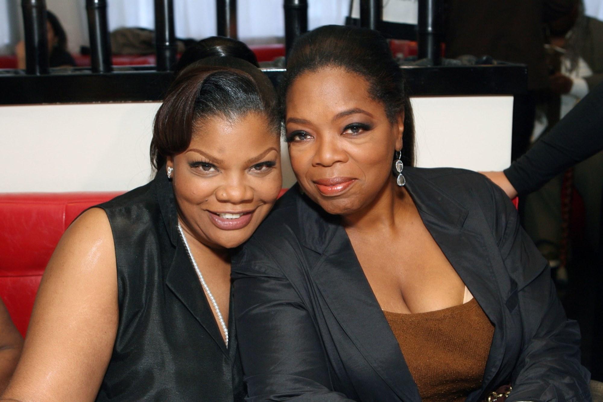 Mo'Nique Oprah Winfrey Feud Back On