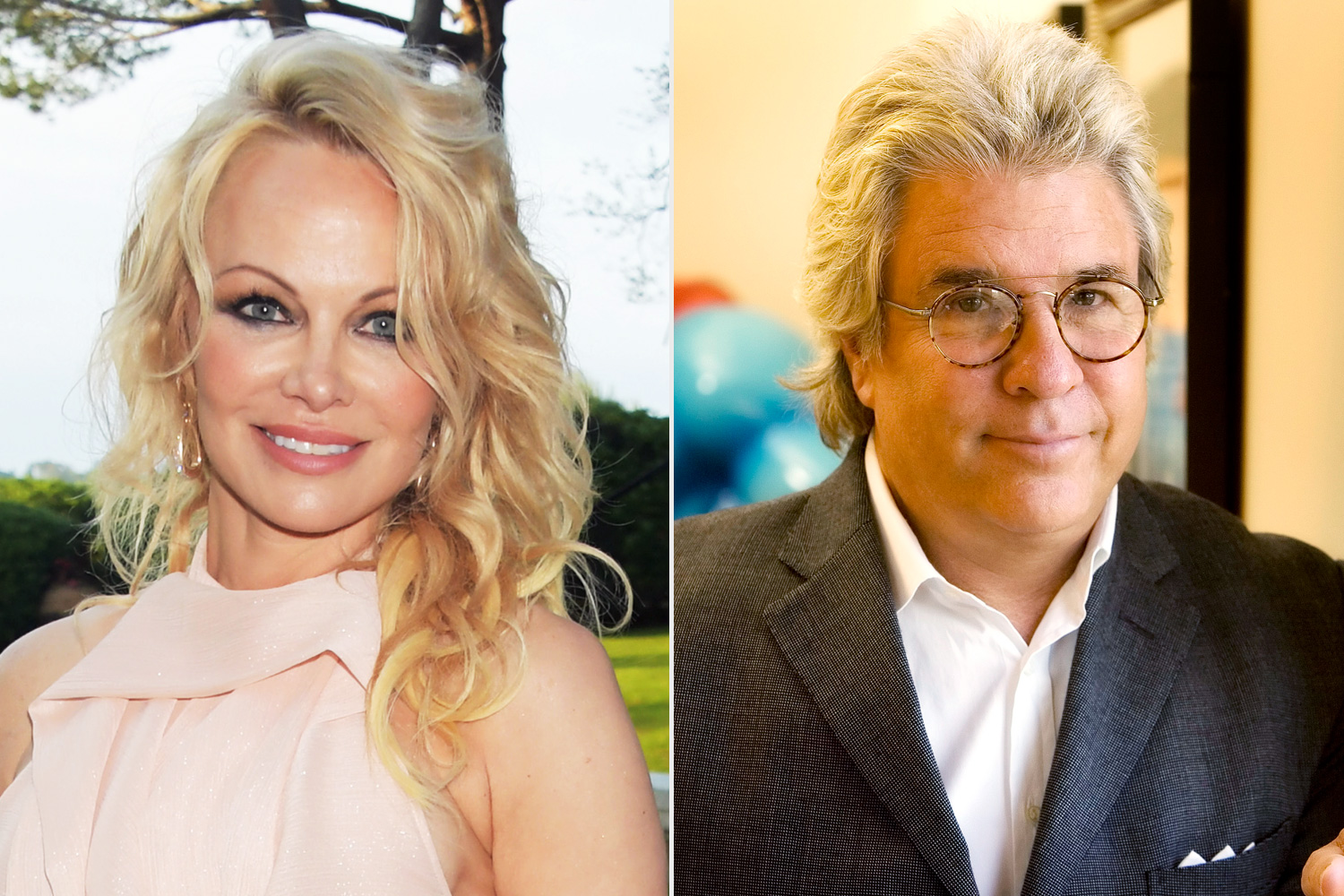 Pamela Anderson's ex Jon Peters engaged again