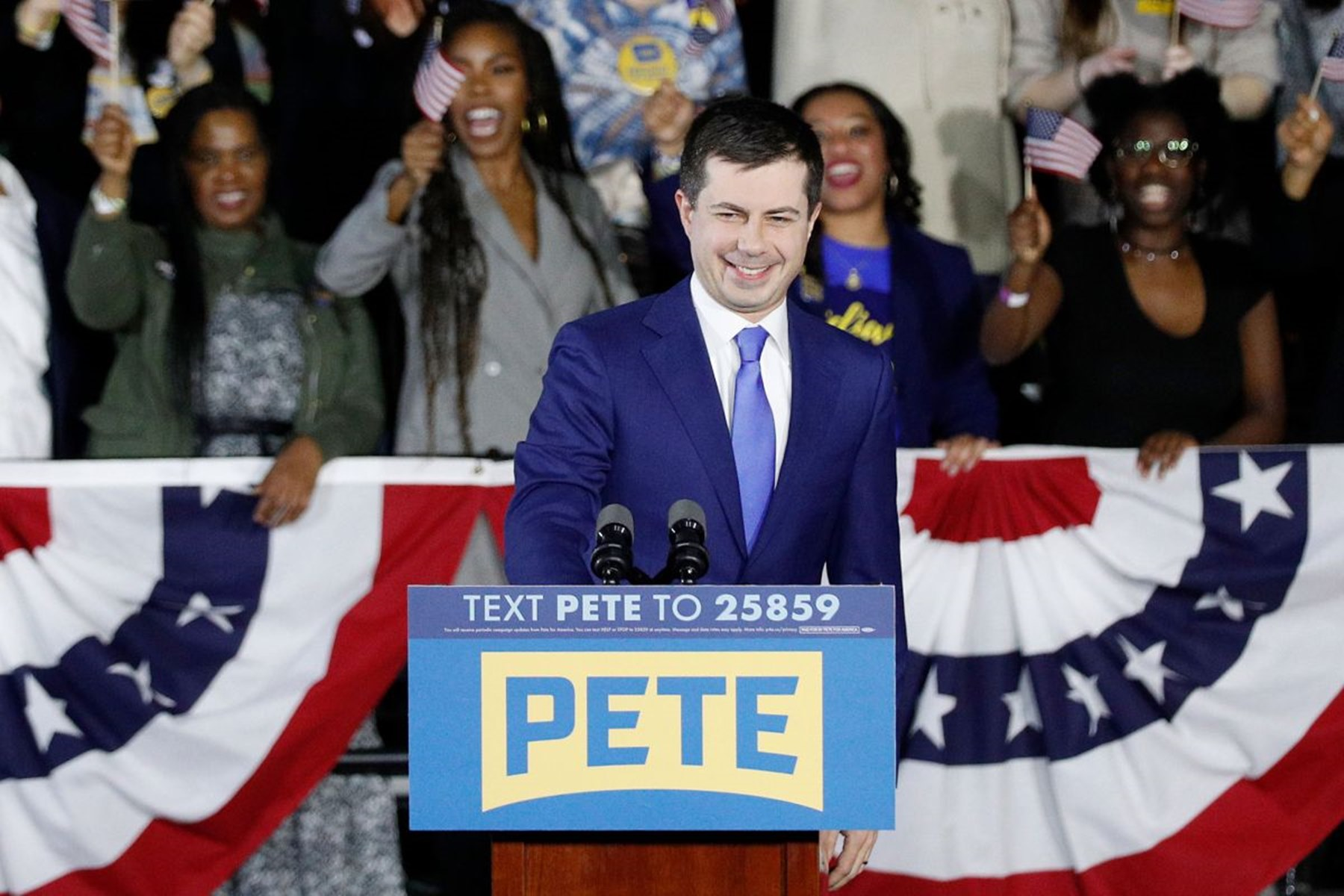 Pete Buttigieg Iowa Caucuses Bernie Sanders