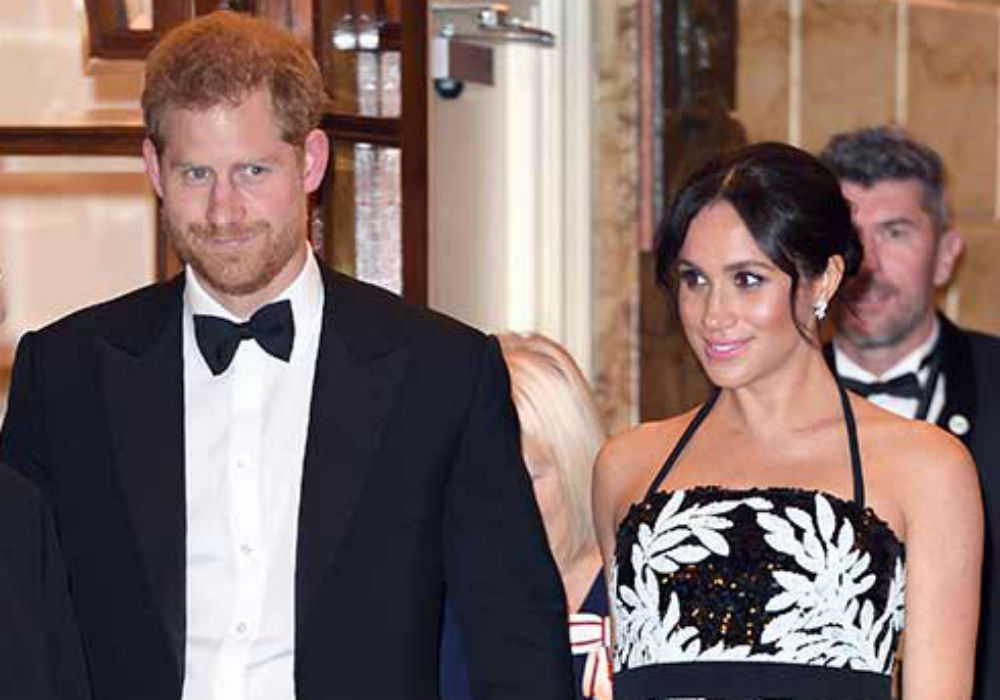 Prince Harry & Meghan Markle Make Their First Public Appearance Post-Megxit Amid Reports They Turned Down An Invitation To Present At The Oscars