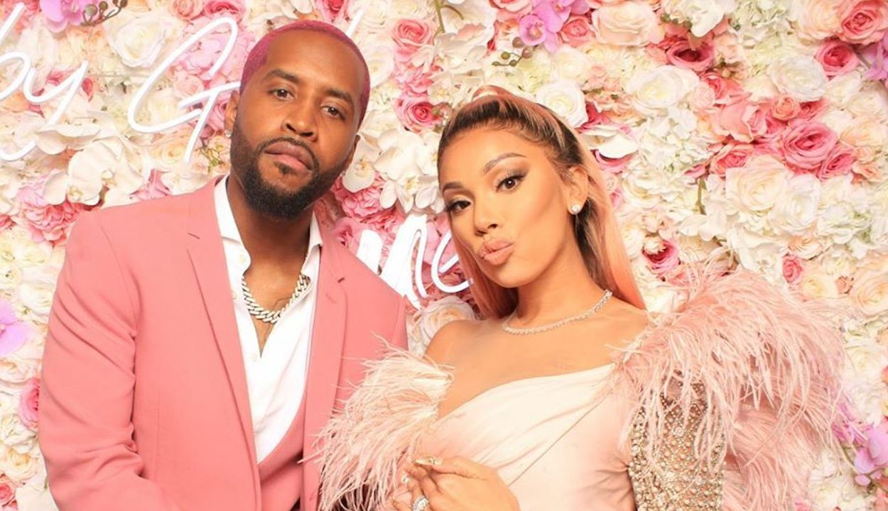 Safaree Goes Diaper Shopping - Check Out Why He Danced On The Streets!