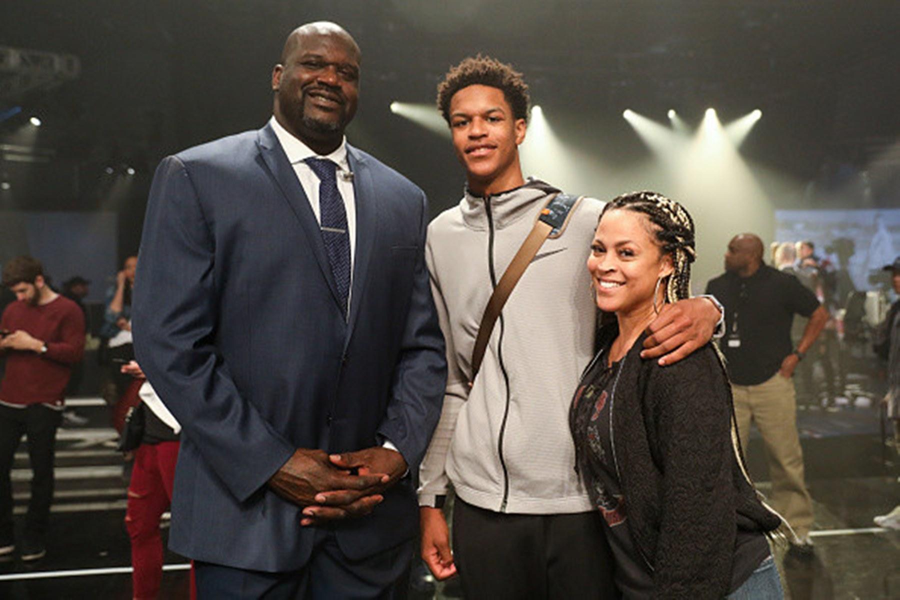 Shaquille O'Neal Shareef Shaunie Kobe Bryant